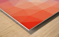 Abstract art patterns low poly polygon 3D backgrounds, textures, and vectors (6) Wood print