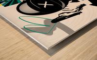 Buggatti Institucional Wood print