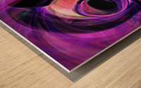 Abstract rendered artwork 3 Wood print