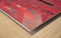 ALIEN LANDSCAPE Wood print