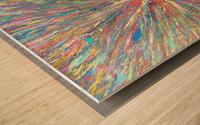 Painters World Wood print