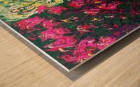 Glendale Gardens Victoria BC-Rodos Wood print