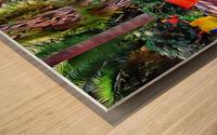 Colorful Plant Pots Marrakech 9 Wood print