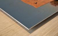Open Wood print