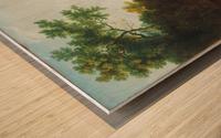 Distant View of Maecenas Wood print
