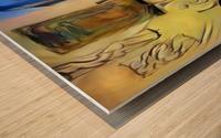 Room Art Wood print