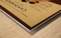 advertisement tango music dance Wood print