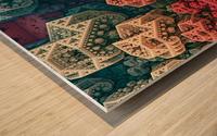 fractals 3d graphics designs   Wood print
