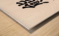 Chinese Concept 12A Impression sur bois