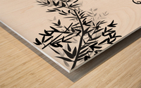 Chinese Concept 23A Impression sur bois