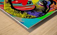 Color Elephant Wood print