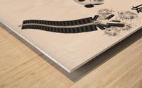 Chinese Concept 27A Impression sur bois
