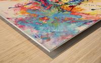 Riding Colors  Wood print