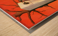 Pawel Kuczynski 29. Wood print