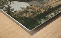 Balcony House Shadows - Newtown Scenes 16X20  Wood print