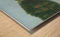 Silver Bridge - Newtown Scenes 18X24 Wood print