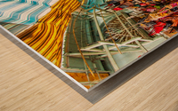 Souk Tunis Tunisie Wood print