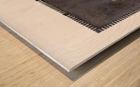 Profiling_1 Impression sur bois