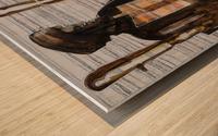 Shadow horserider 2 Impression sur bois