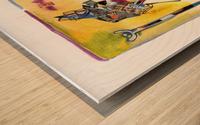 Kollage KAMEL Wood print