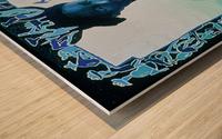 Valse des illusions Wood print