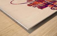 St. Louis Missouri Skyline Wood print