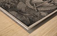 Christ in Limbo Wood print