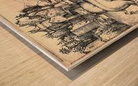 Monstrous Sow of Landser Wood print