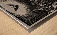 Holy wisdom presence Wood print