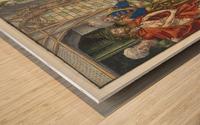 Here is Christ Wood print