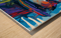 CharlieChaplin4 Wood print
