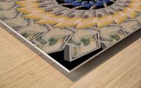 Endless PARROT MONEY  Wood print