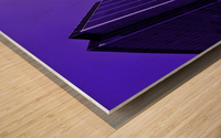Edges Wood print