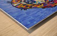 Colorful Smile Wood print