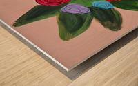 Flowers. Tala S Wood print