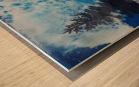 Crystal White Wood print