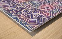 Iridescent Reverie Wood print