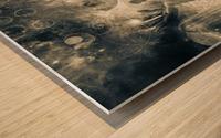 Mystical Priests Wood print