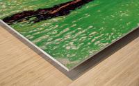 Garden Rift Wood print