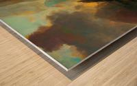 Fierce Landscape Wood print