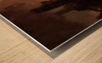 Lonesome Plains Wood print