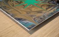 galactic fullmoon Wood print