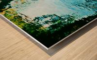 Nature reflections Wood print