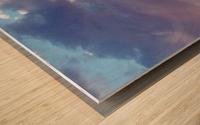 Beautiful cumullus Wood print