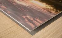 Reflection Wood print