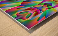 A.P.Polo - Alien Wood print