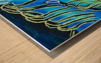 Blue Horse. Glenn N Wood print