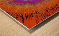 Abstract Sun 33 Wood print