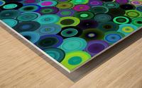 generated_Glitch43 Wood print