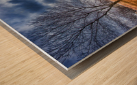 Templar Path Wood print